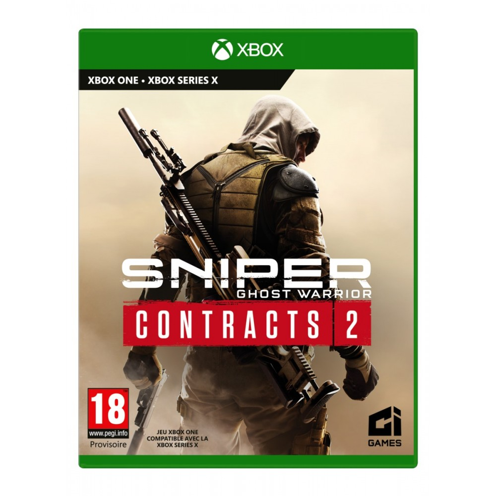 SNIPER GHOST WARRIOR CONTRACTS 2 XBOX ONE-SERIE X FR NEW