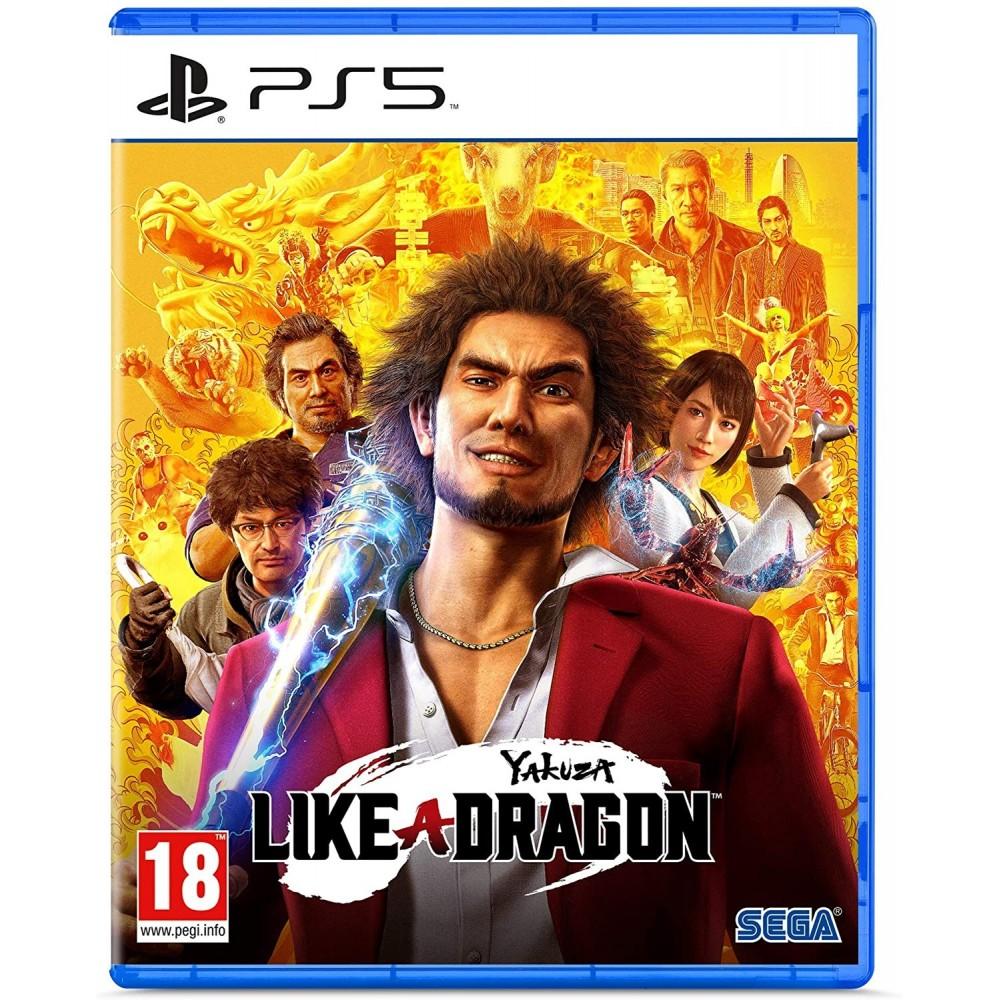 YAKUZA LIKE A DRAGON - PS5 FR