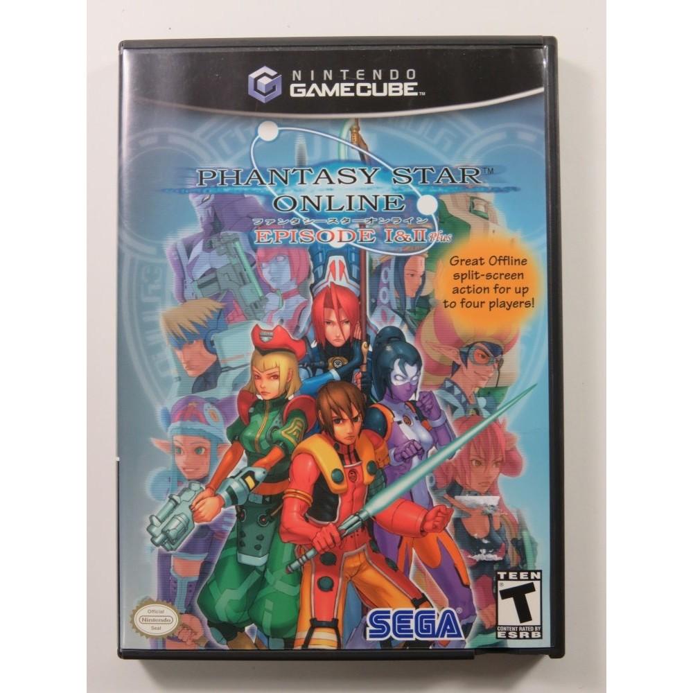 PHANTASY STAR ONLINE EPISODE I & II GAMECUBE NTSC-USA OCCASION
