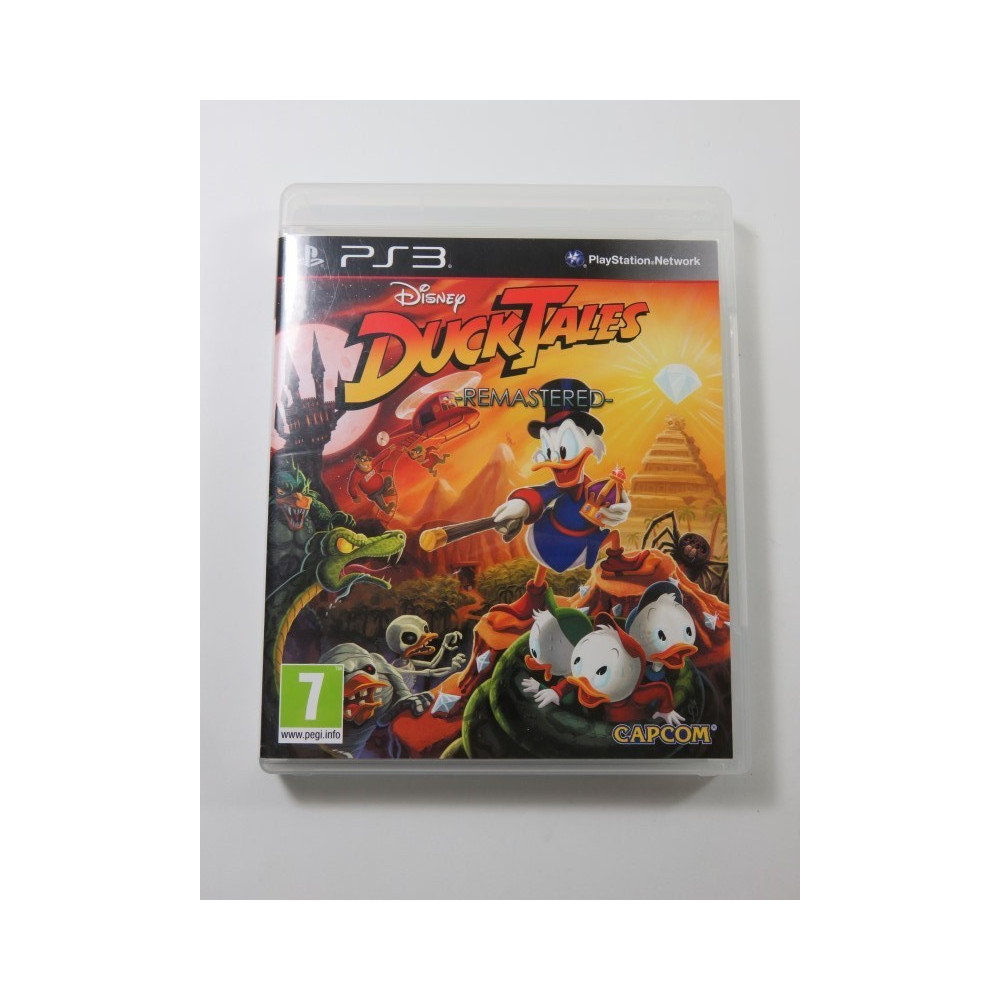 DISNEY DUCKTALES - REMASTERED PS3 UK OCCASION
