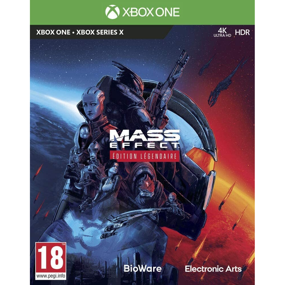 MASS EFFECT EDITION LEGENDAIRE XBOX ONE FR OCCASION