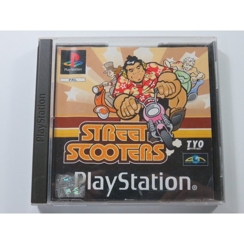 STREET SCOOTERS PLAYSTATION (PS1) PAL-EURO (SANS JAQUETTE - WITHOUT COVER)