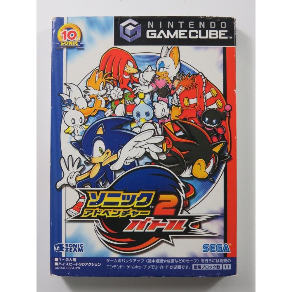 SONIC ADVENTURE 2 BATTLE NINTENDO GAMECUBE NTSC-JPN (COMPLETE - GOOD CONDITION)