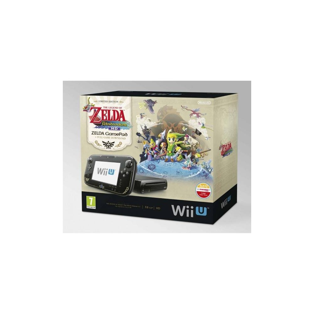 CONSOLE WIIU ZELDA THE WINDWAKER HD WIIU PAL EURO OCCASION