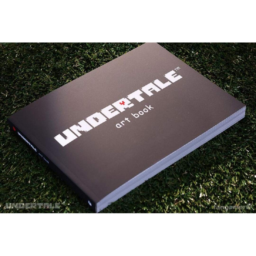 ART BOOK UNDERTALE SOFTCOVER US NEW