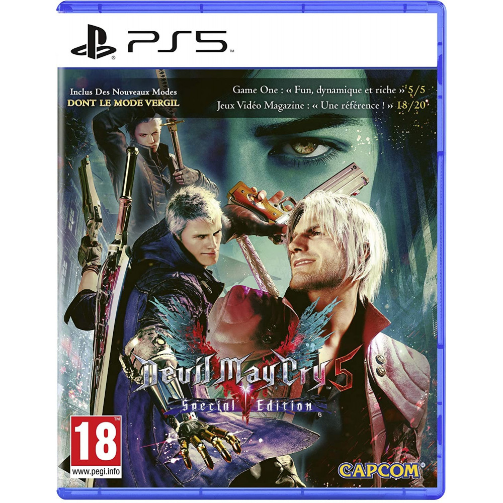 DEVIL MAY CRY 5 SPECIAL EDITION PS5 FR NEW