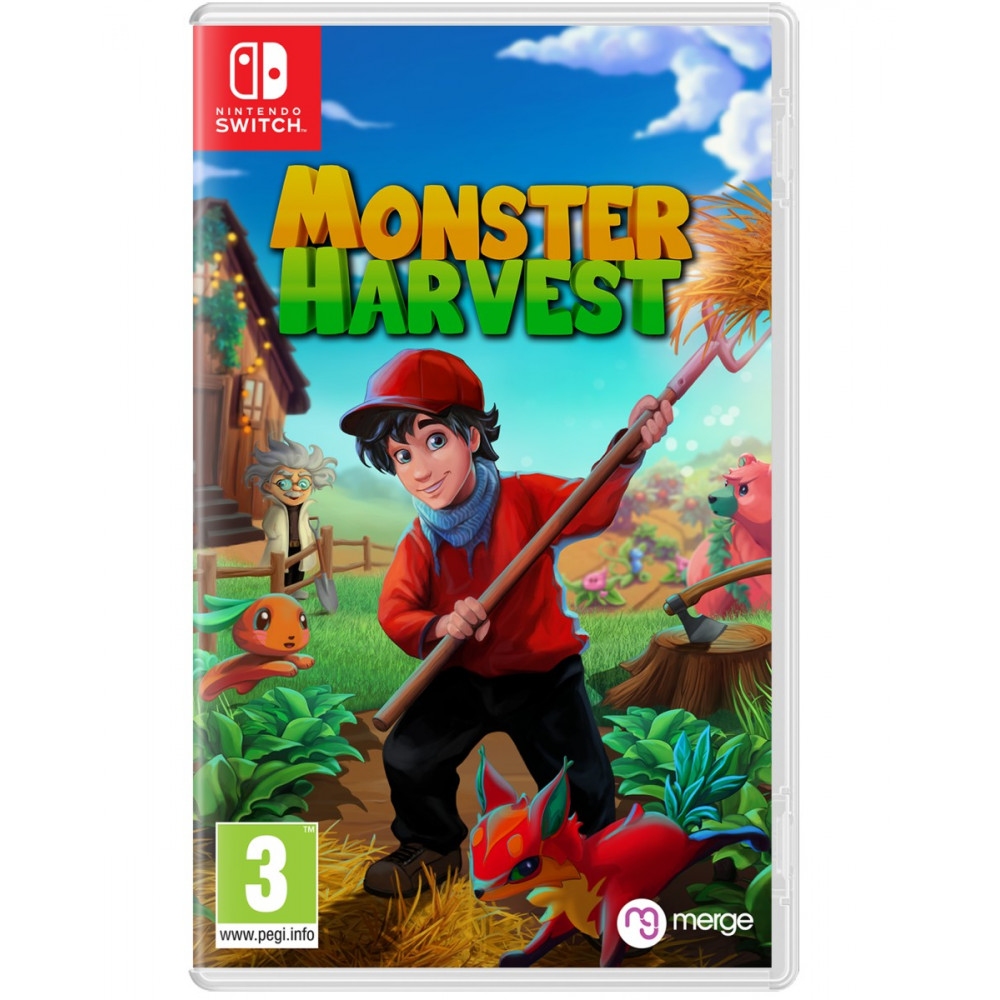 Monster Harvest SWITCH - EURO Preorder