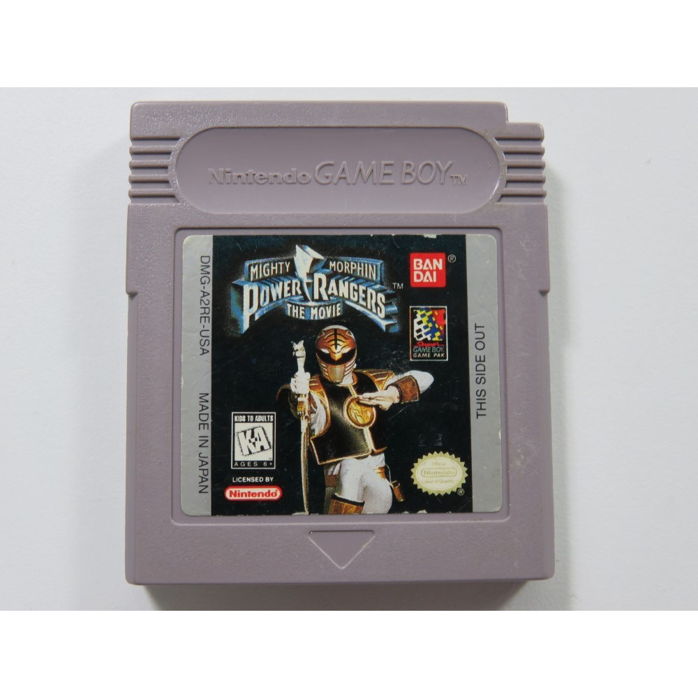 MIGHTY MORPHIN POWER RANGERS THE MOVIE GAMEBOY (GB) USA (CARTRIDGE ONLY)