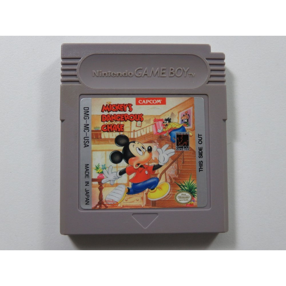 MICKEY S DANGEROUS CHASE GAMEBOY (GB) USA (CARTRIDGE ONLY)