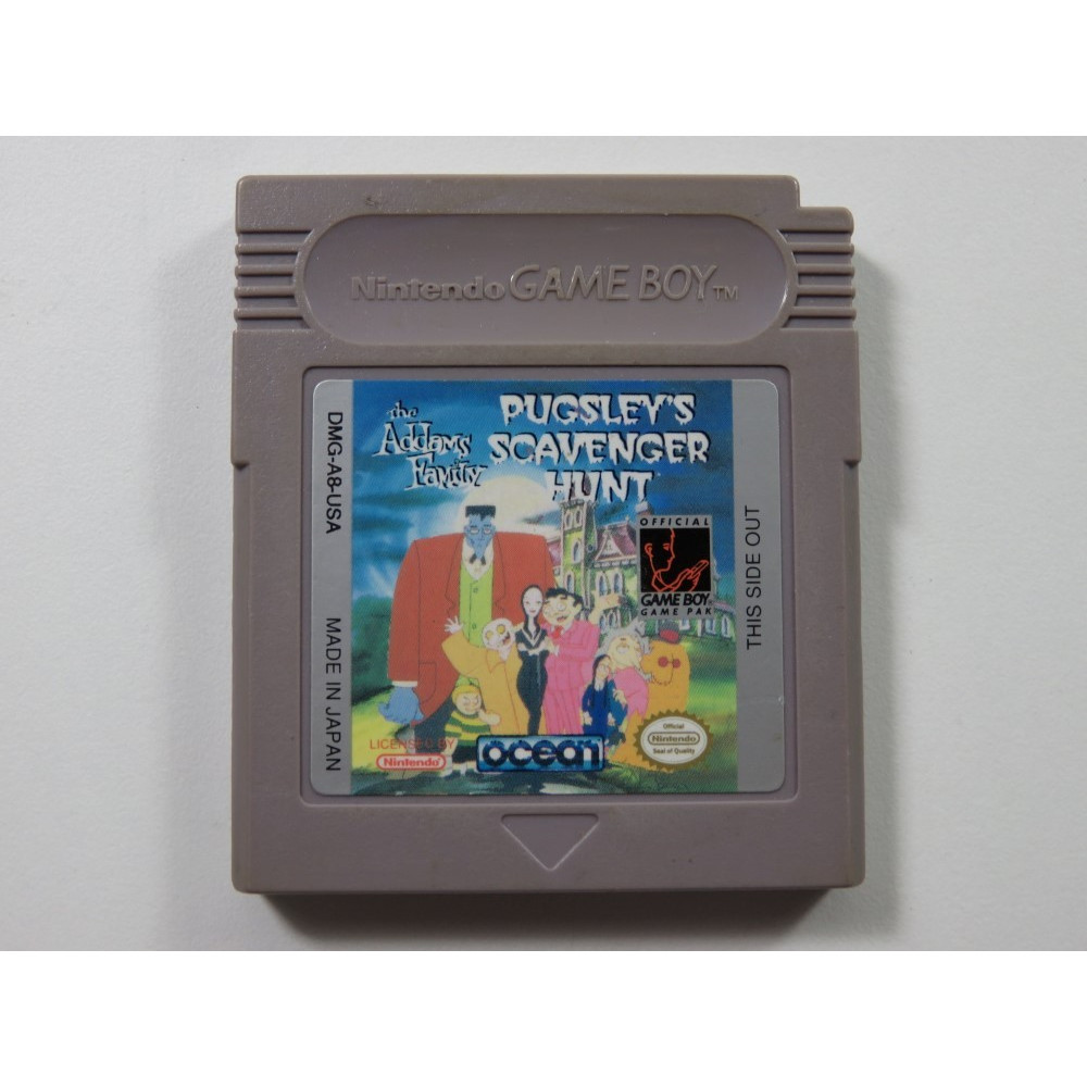 THE ADDAM S FAMILY PUGSLEY S SCAVENGERS HUNT GAMEBOY (GB) USA (CARTRIDGE ONLY)
