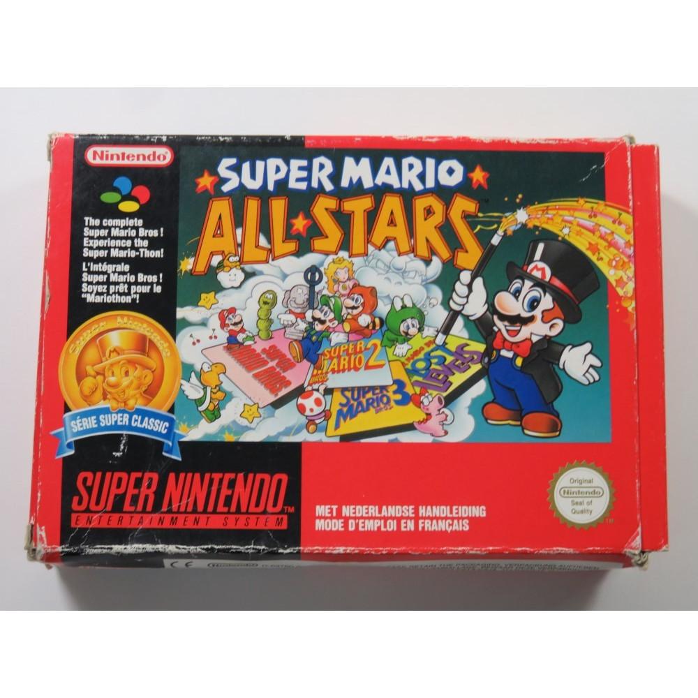 SUPER MARIO ALL STARS CLASSICS SUPER NINTENDO (SNES) PAL-FAH-2 (COMPLETE - BOX DAMAGED)