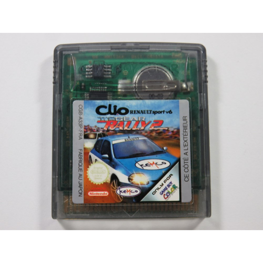 TOP GEAR RALLY 2 NINTENDO GAMEBOY COLOR (GBC) FRA (CARTRIDGE ONLY)