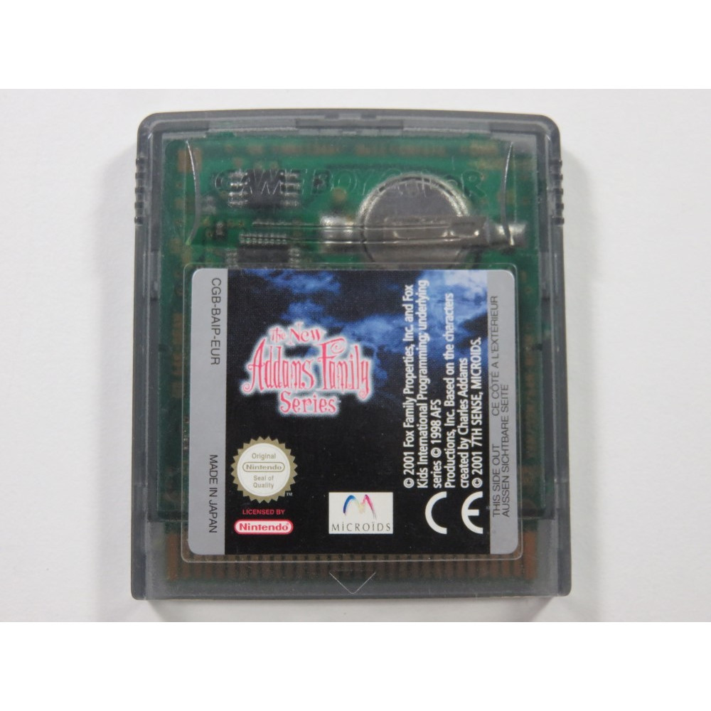 THE NEW ADDAMS FAMILY SERIES GAMEBOY COLOR (GBC) EUR (CARTRIDGE ONLY)