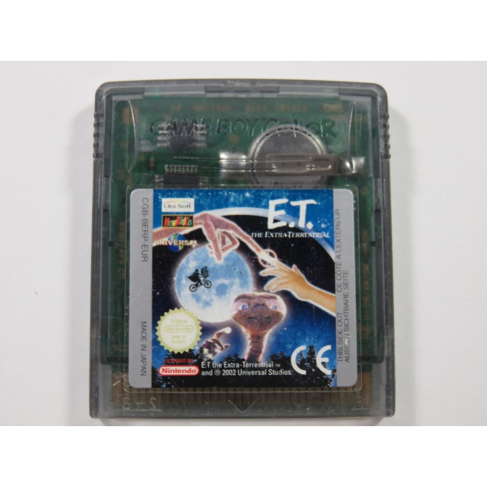 E.T. THE EXTRA TERRESTRIAL NINTENDO GAMEBOY COLOR (GBC) EUR (CARTRIDGE ONLY)
