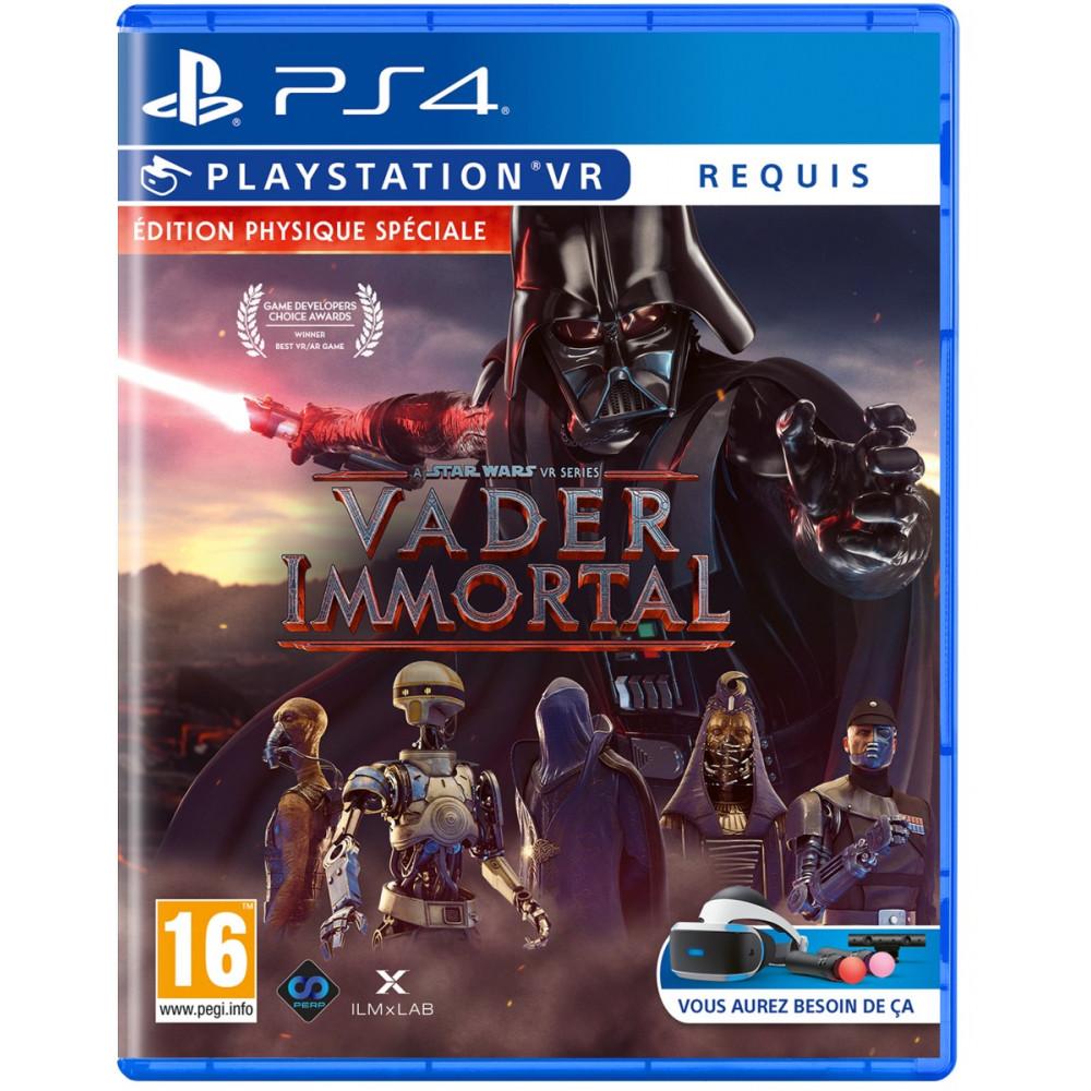 VADER IMMORTAL A STAR WARS VR SERIES PS4 FR NEW