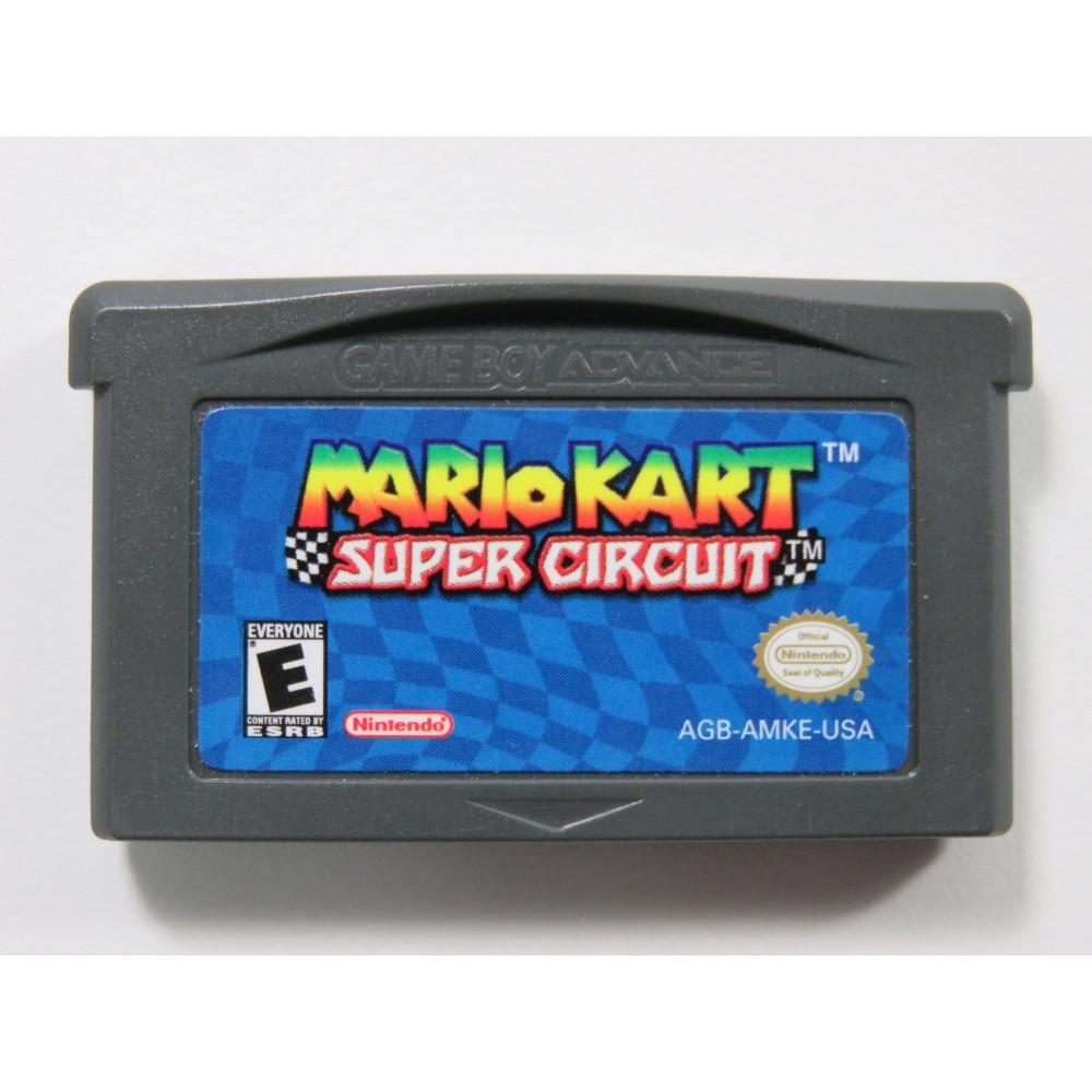 MARIO KART SUPER CIRCUIT GAMEBOY ADVANCE (GBA) USA (CARTRIDGE ONLY)