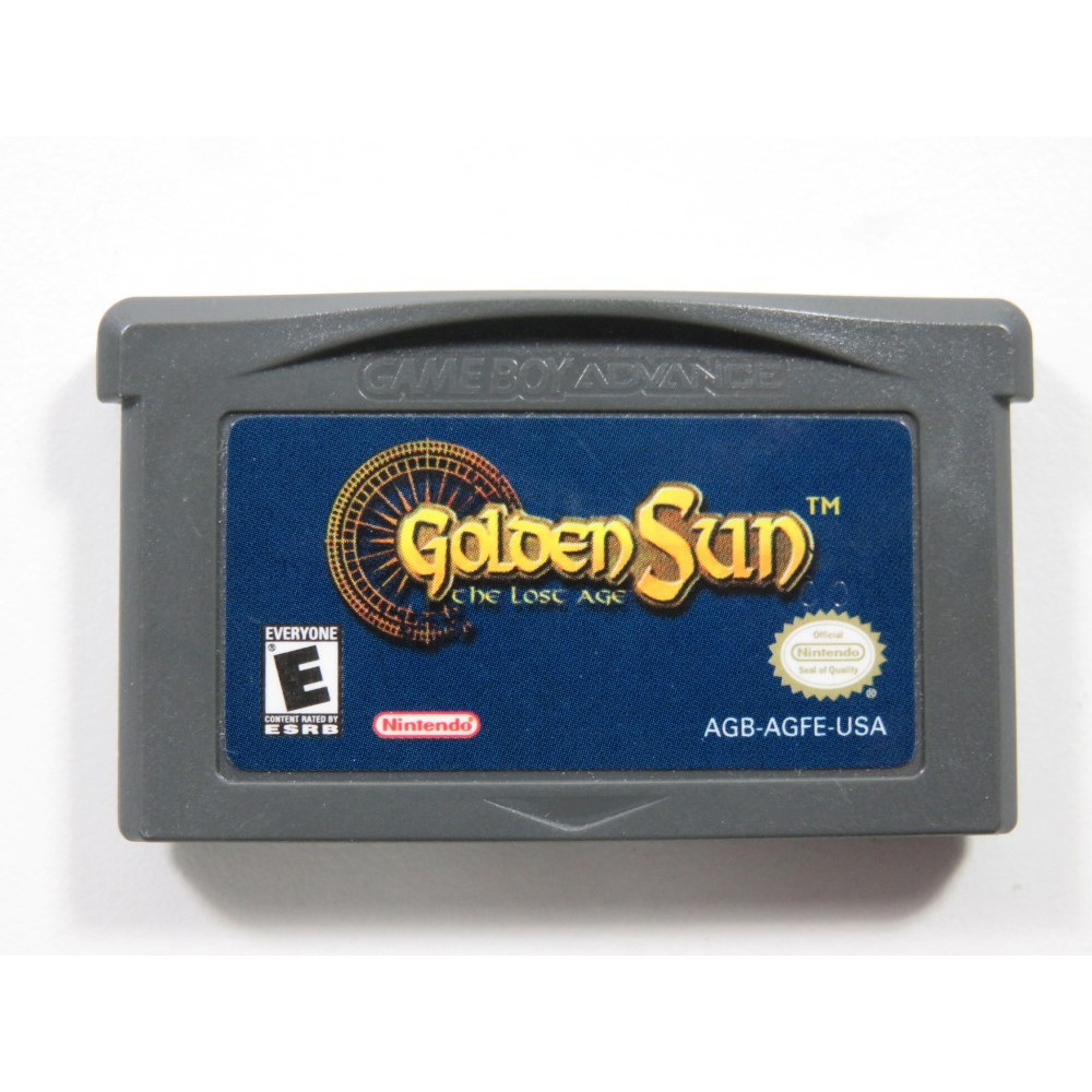 GOLDEN SUN THE LOST AGE NINTENDO GAMEBOY ADVANCE (GBA) USA (CARTRIDGE ONLY - GOOD CONDITION)