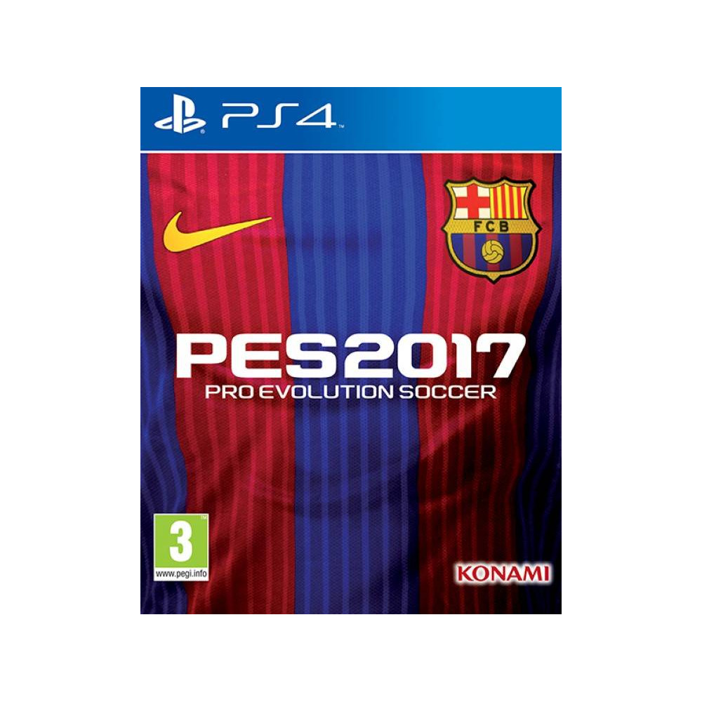 PRO EVOLUTION SOCCER 17 STEELBOOK PS4 UK OCCASION