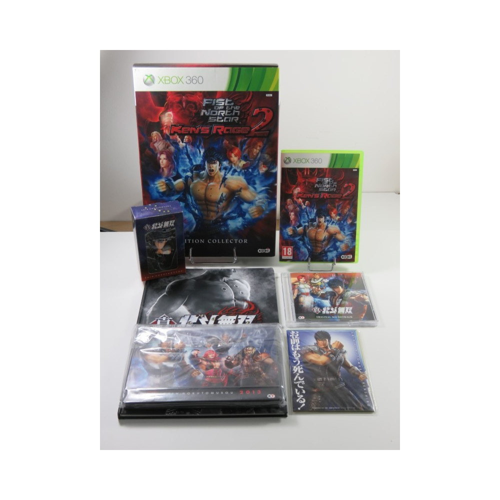 FIST OF THE NORTH STAR KEN S RAGE 2 XBOX 360 (X360) PAL-FR (COMPLET - VERY GOOD CONDITION)