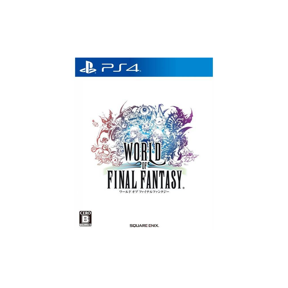 WORLD OF FINAL FANTASY PS4 JPN NEW