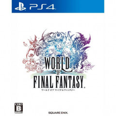 WORLD OF FINAL FANTASY PS4 JPN NEW