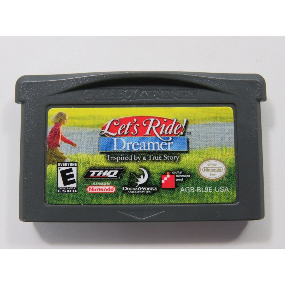 LET S RIDE DREAMER NINTENDO GAMEBOY ADVANCE (GBA) USA (CARTRIDGE ONLY)