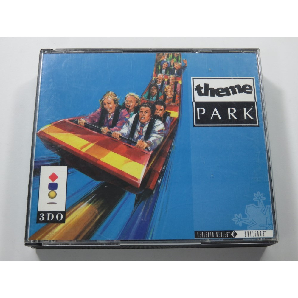THEME PARK 3DO EURO (COMPLETE - GOOD CONDITION) - (FRENCH MANUAL ONLY)