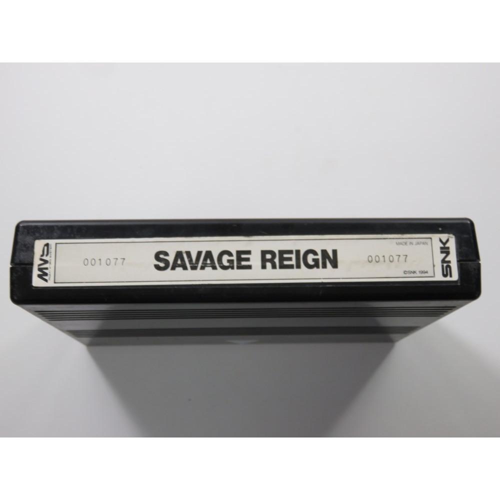 MVS SAVAGE REIGN JAPAN (CARTRIDGE ONLY)