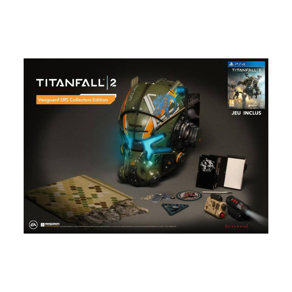 TITANFALL 2 VANGUARD SRS COLLECTOR PS4 EURO NEW