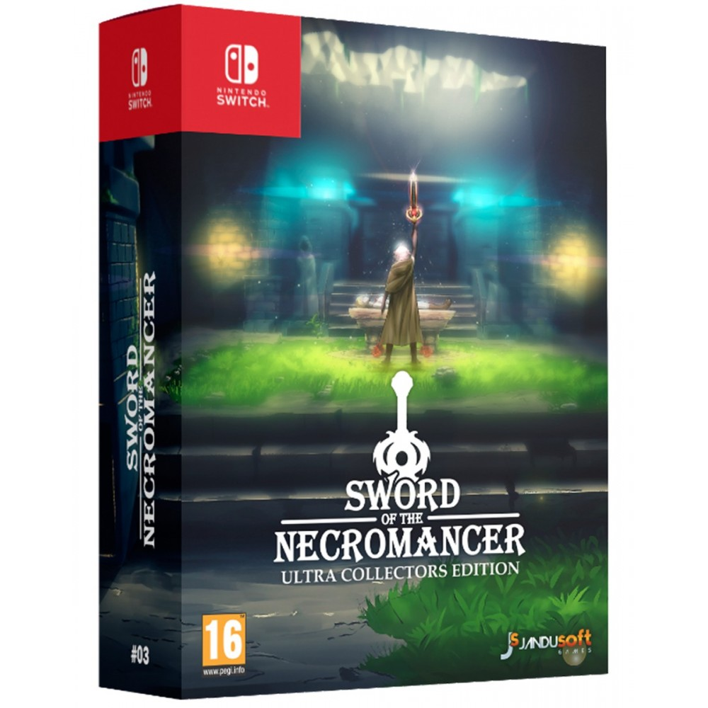Sword of the Necromancer UltraCollector SWITCH - EURO Précommande