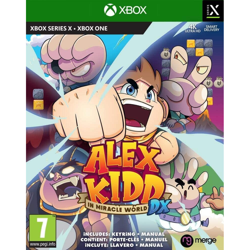 ALEX KIDD IN MIRACLE WORLD DX XBOX ONE-SERIES X EURO NEW