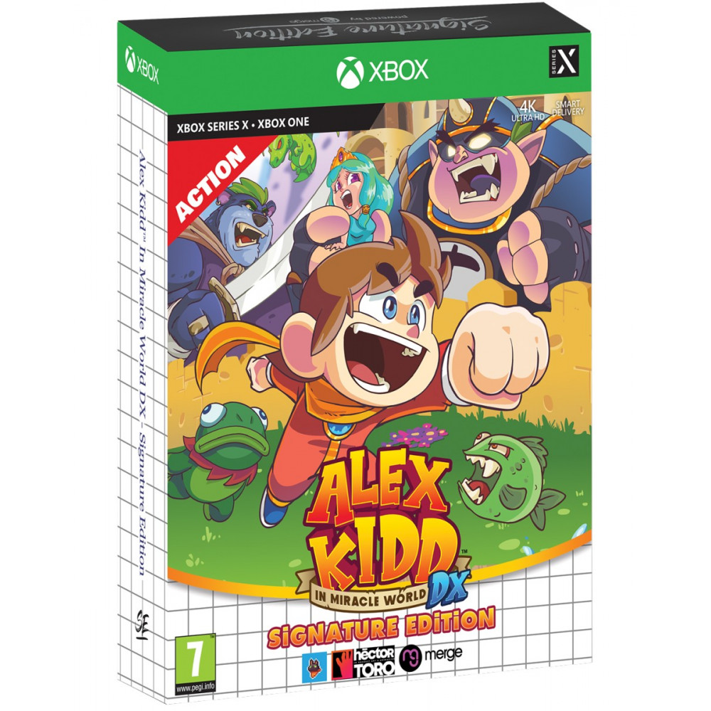 ALEX KIDD IN MIRACLE WORLD DX SIGNATURE EDITION XBOX ONE-SERIES X EURO NEW