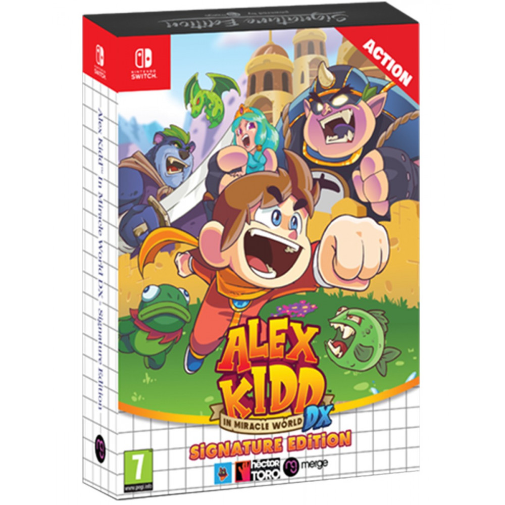 ALEX KIDD IN MIRACLE WORLD DX SIGNATURE EDITION SWITCH EURO NEW