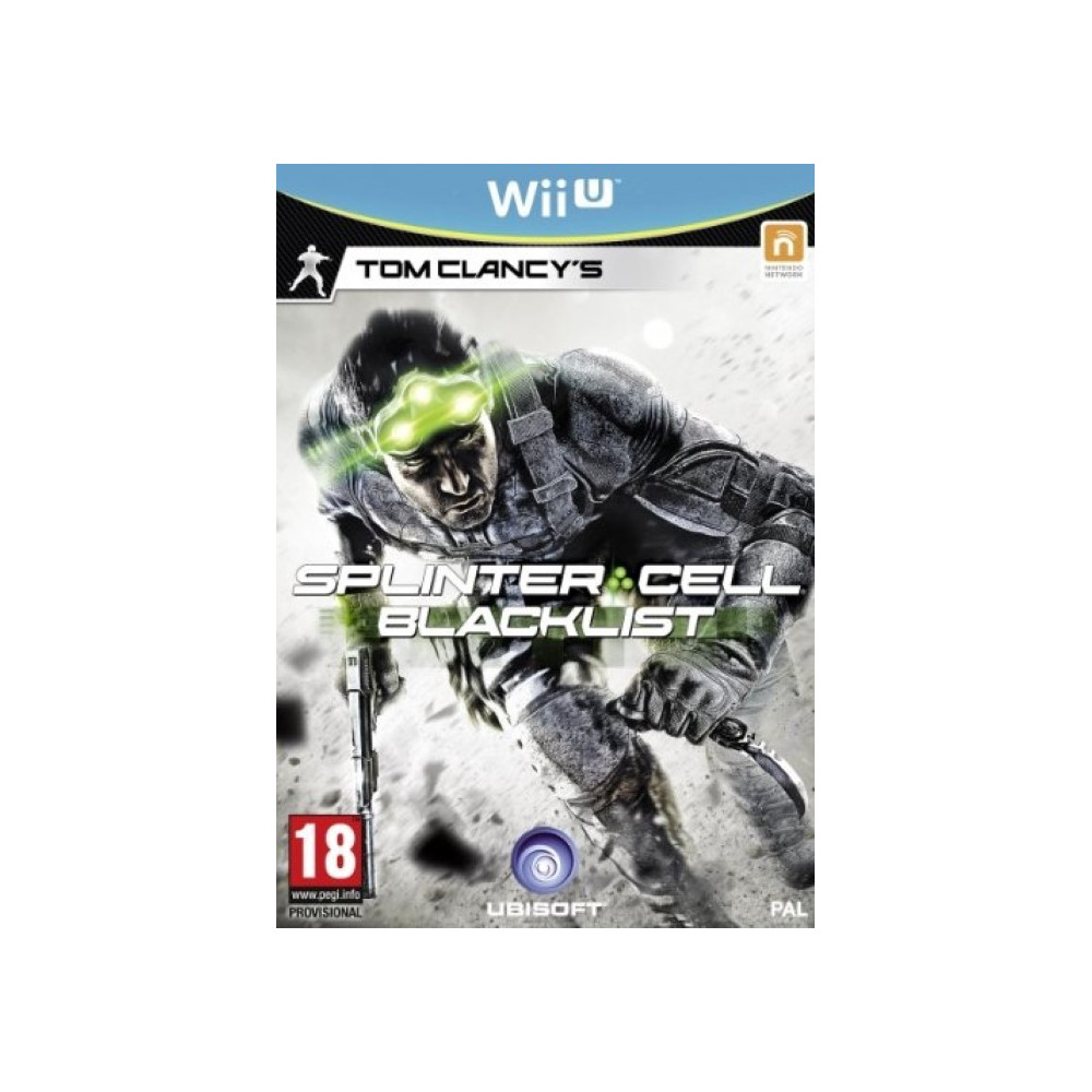 SPLINTER CELL 6 WII U VF OCC