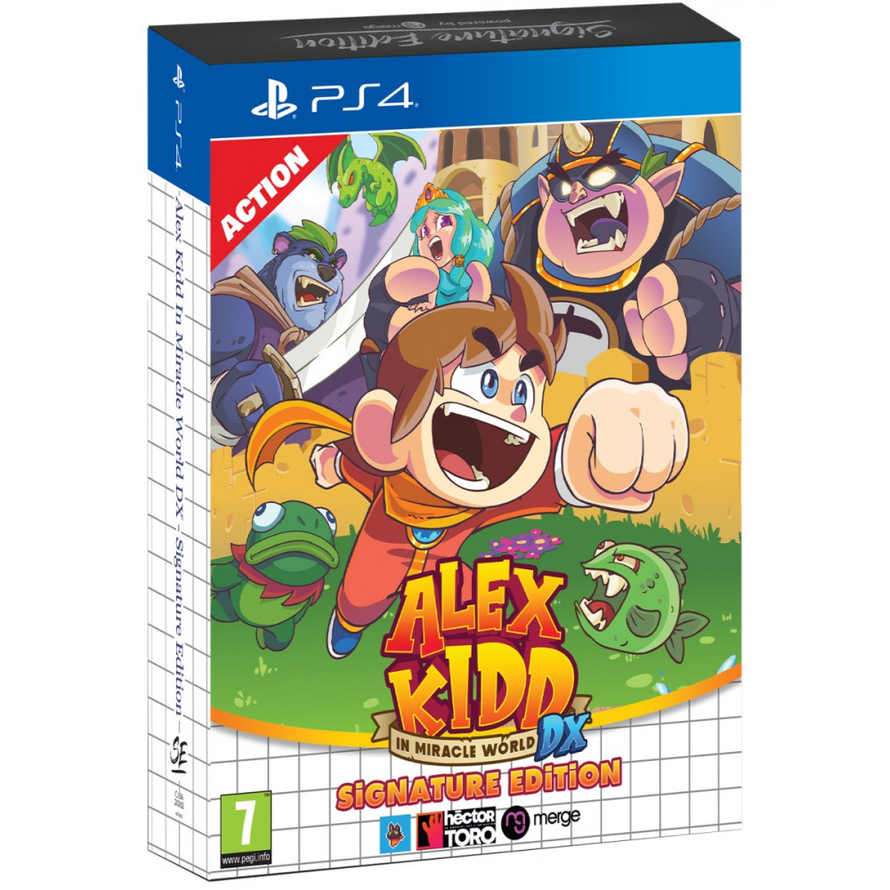 ALEX KIDD IN MIRACLE WORLD DX SIGNATURE EDITION  PS4 EURO NEW