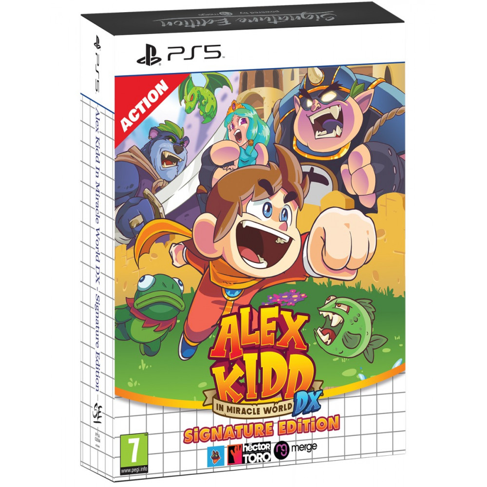 ALEX KIDD IN MIRACLE WORLD DX SIGNATURE EDITION PS5 EURO NEW