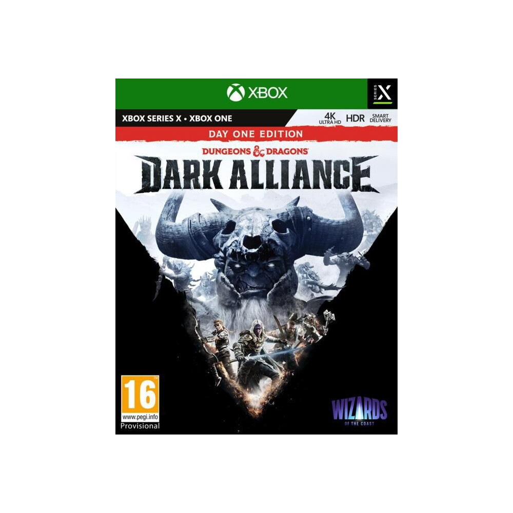 DARK ALLIANCE DUNGEONS & DRAGONS DAY ONE EDITION XBOX ONE - SERIES X FR NEW
