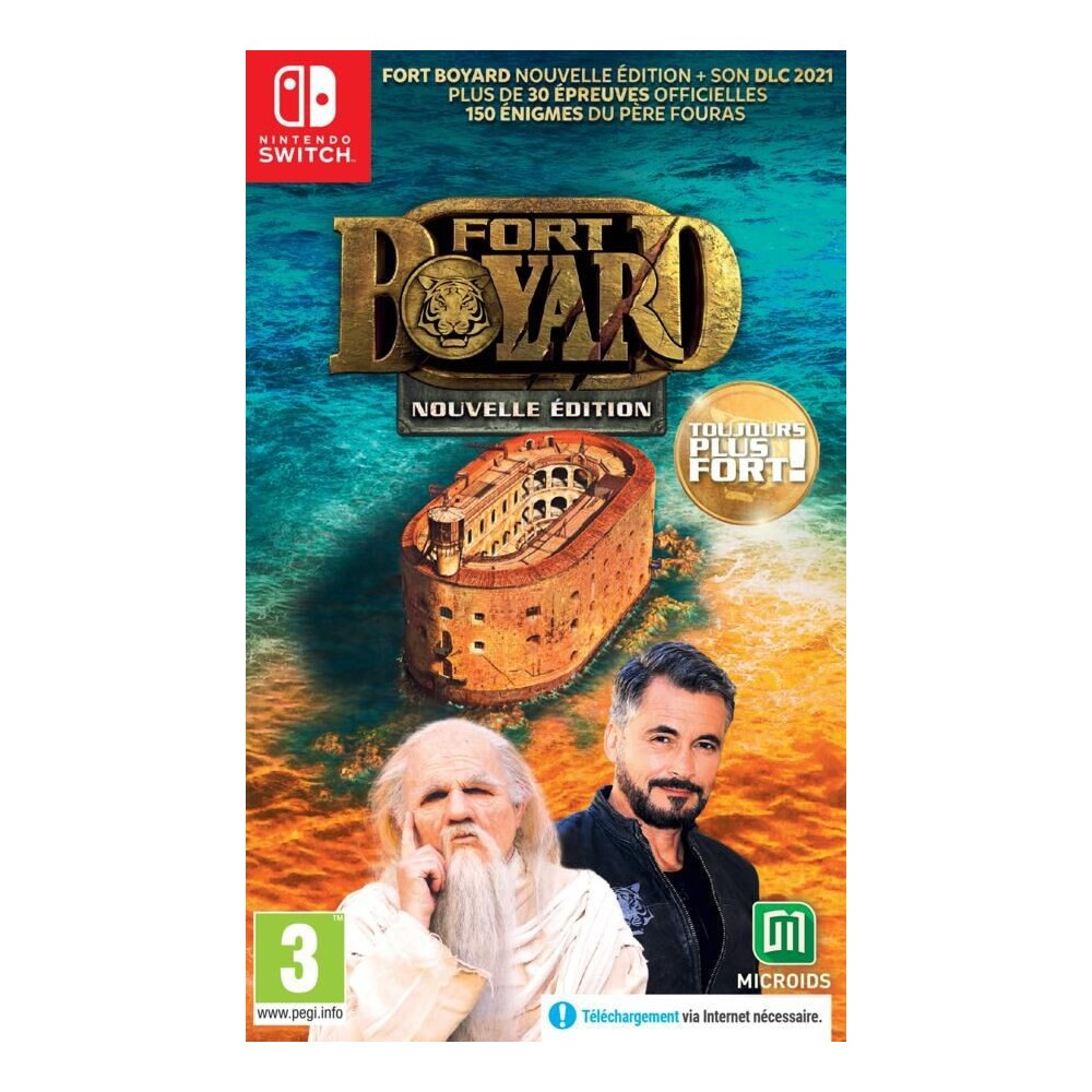 FORT BOYARD NOUVELLE EDITION TOUJOURS PLUS FORT! SWITCH FR NEW