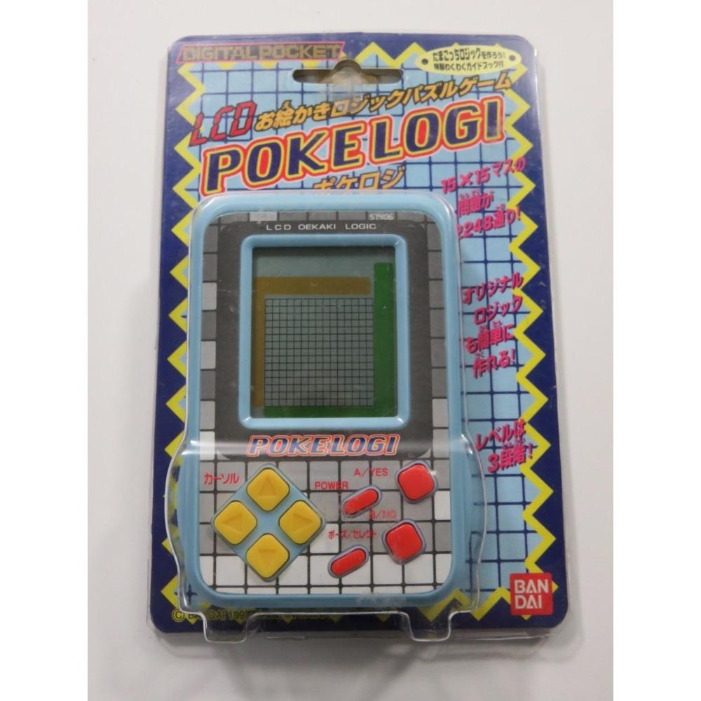 LCD GAME POKELOGI BANDAI JAPAN (COMPLETE - GOOD CONDITION)