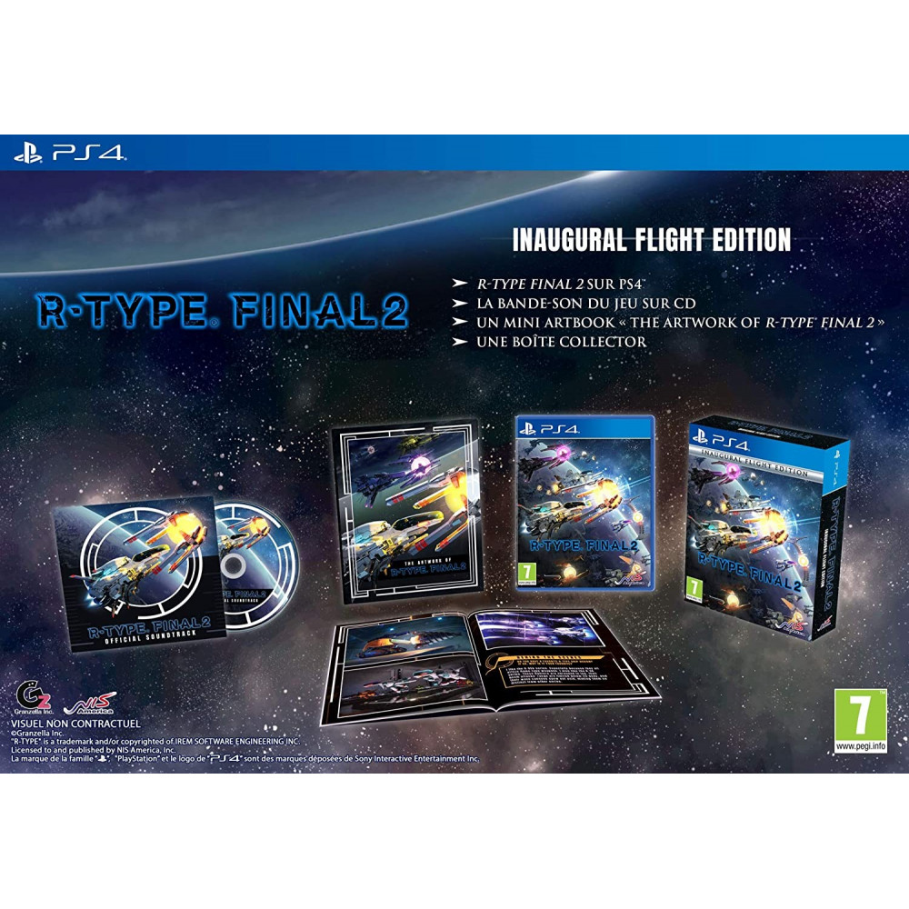 R-TYPE FINAL 2 INAUGURAL FLIGHT EDITION PS4 UK NEW
