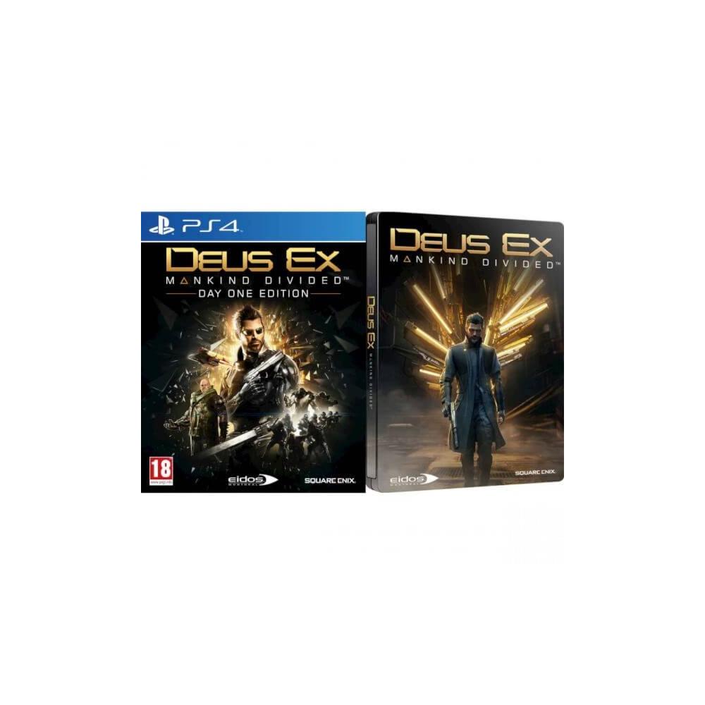 DEUS EX DAY ONE STEELBOOK PS4 FR OCCASION