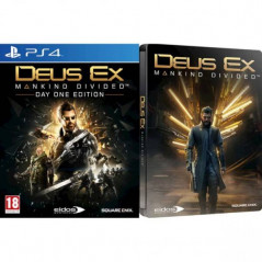 DEUS EX DAY ONE STEELBOOK PS4 FR OCCASION
