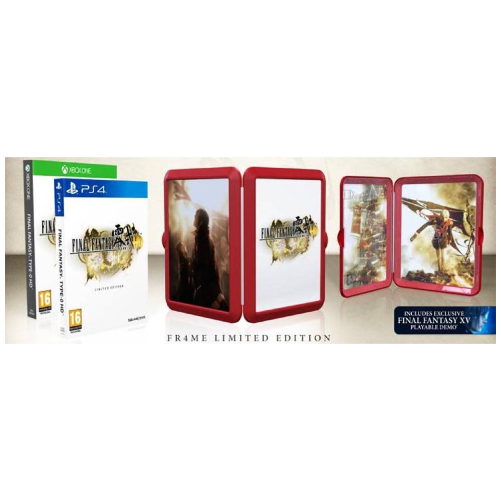 FINAL FANTASY TYPE 0 FRAME EDITION PS4 FR OCCASION