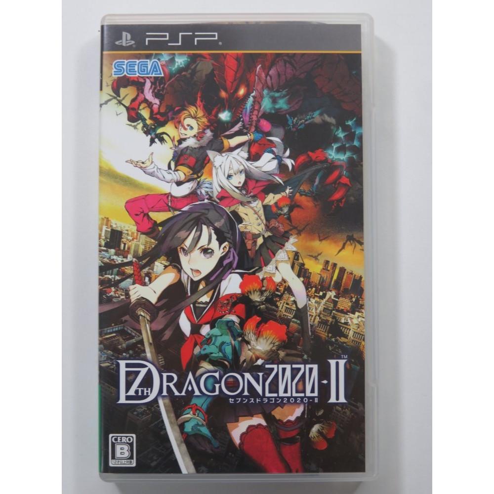 7TH DRAGON 2020-II SONY PSP JAPAN OCCASION