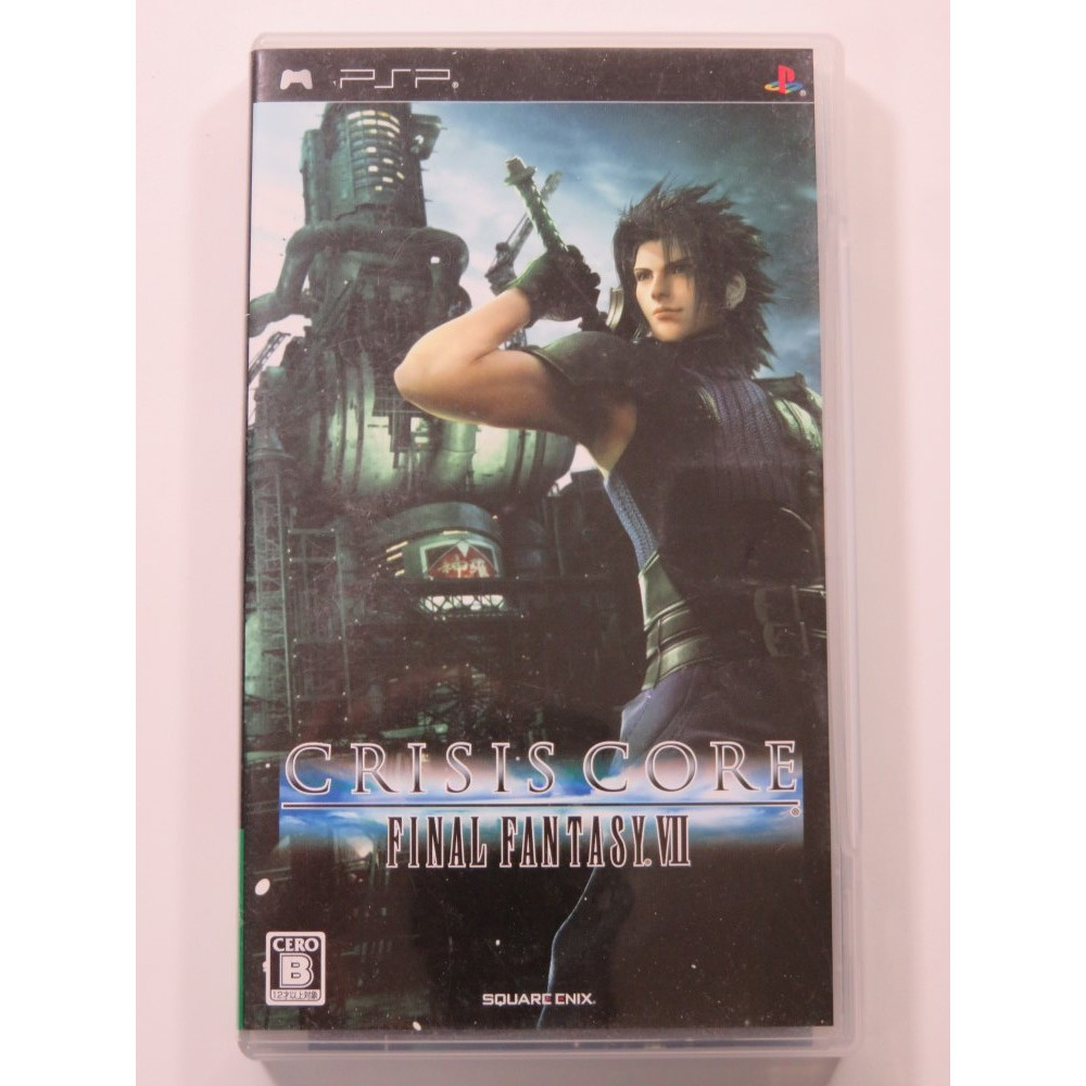 CRISIS CORE FINAL FANTASY VII SONY PSP JAPAN OCCASION