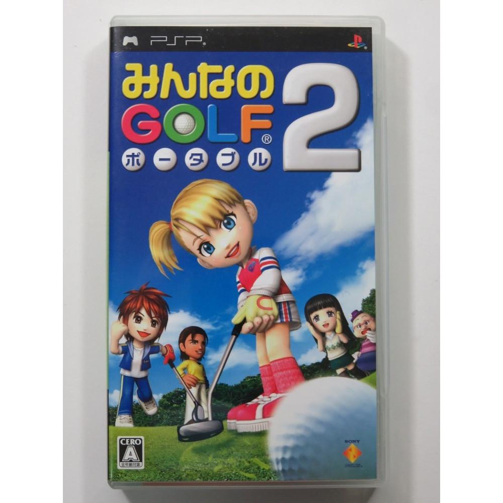 MINNA NO GOLF PORTABLE 2 SONY PSP JAPAN OCCASION