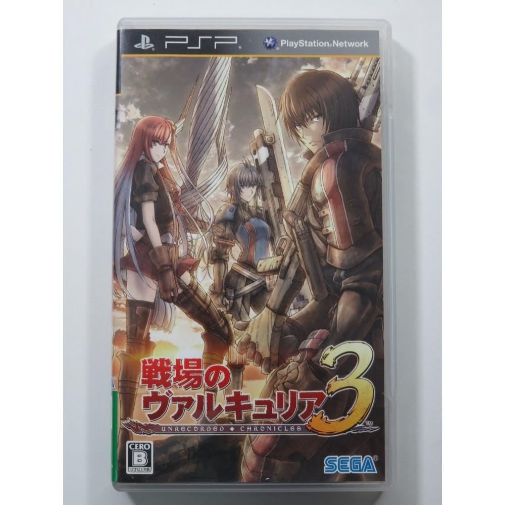 SENJO NO VALKYRIA 3 SONY PSP JAPAN OCCASION