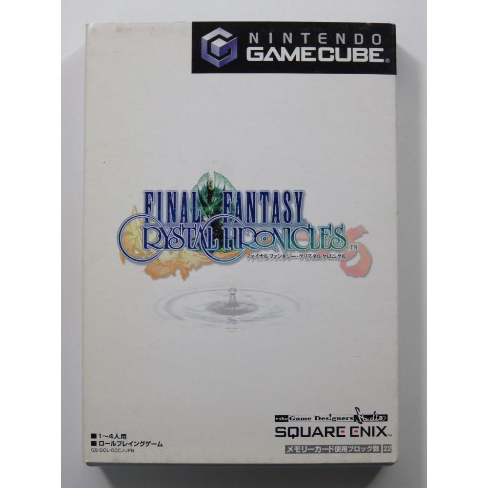 FINAL FANTASY CRYSTAL CHRONICLES GAMECUBE NTSC-JPN OCCASION