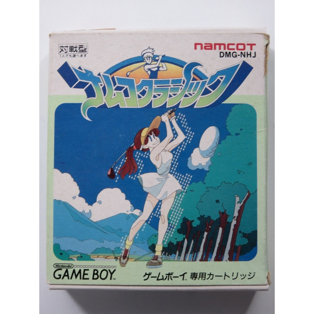 NAMCO CLASSIC NINTENDO GAMEBOY (GB) JAPAN (COMPLETE WITH REG CARD - BOX SLIGHTLY DAMAGED)