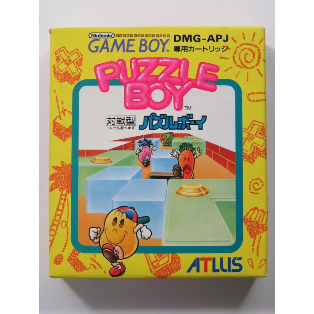 PUZZLE BOY (KWIRK) NINTENDO GAMEBOY (GB) JAPAN (COMPLETE - GOOD CONDITION)